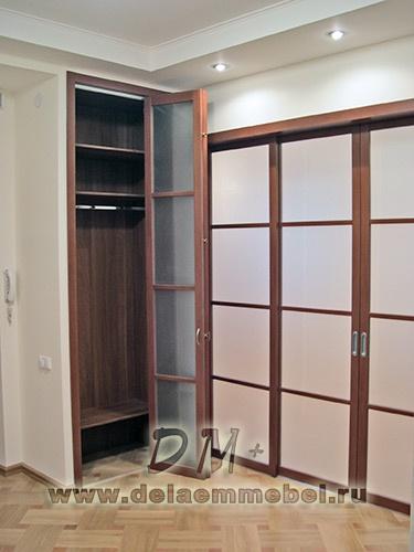 Встроенные шкафы на заказ в брянске